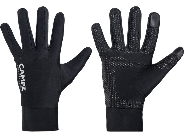 CAMPZ Stretch Grip - Gants - noir